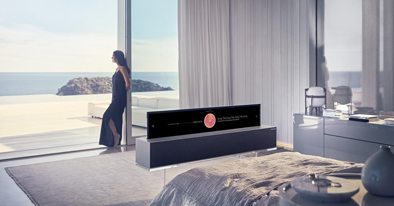 LG Signatures Series OLED TV R