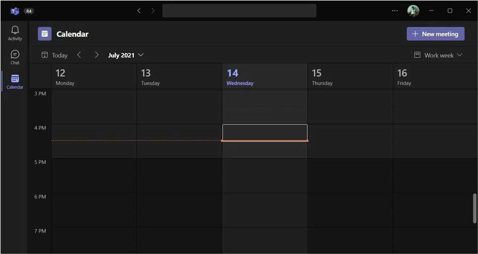 Microsoft Teams 2.0 Calendar