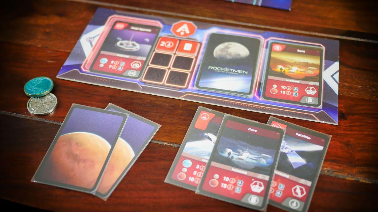 Rocketmen Gioco da Tavolo 4
