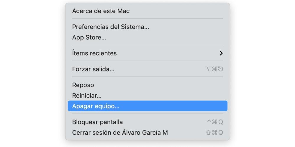 turn off mac