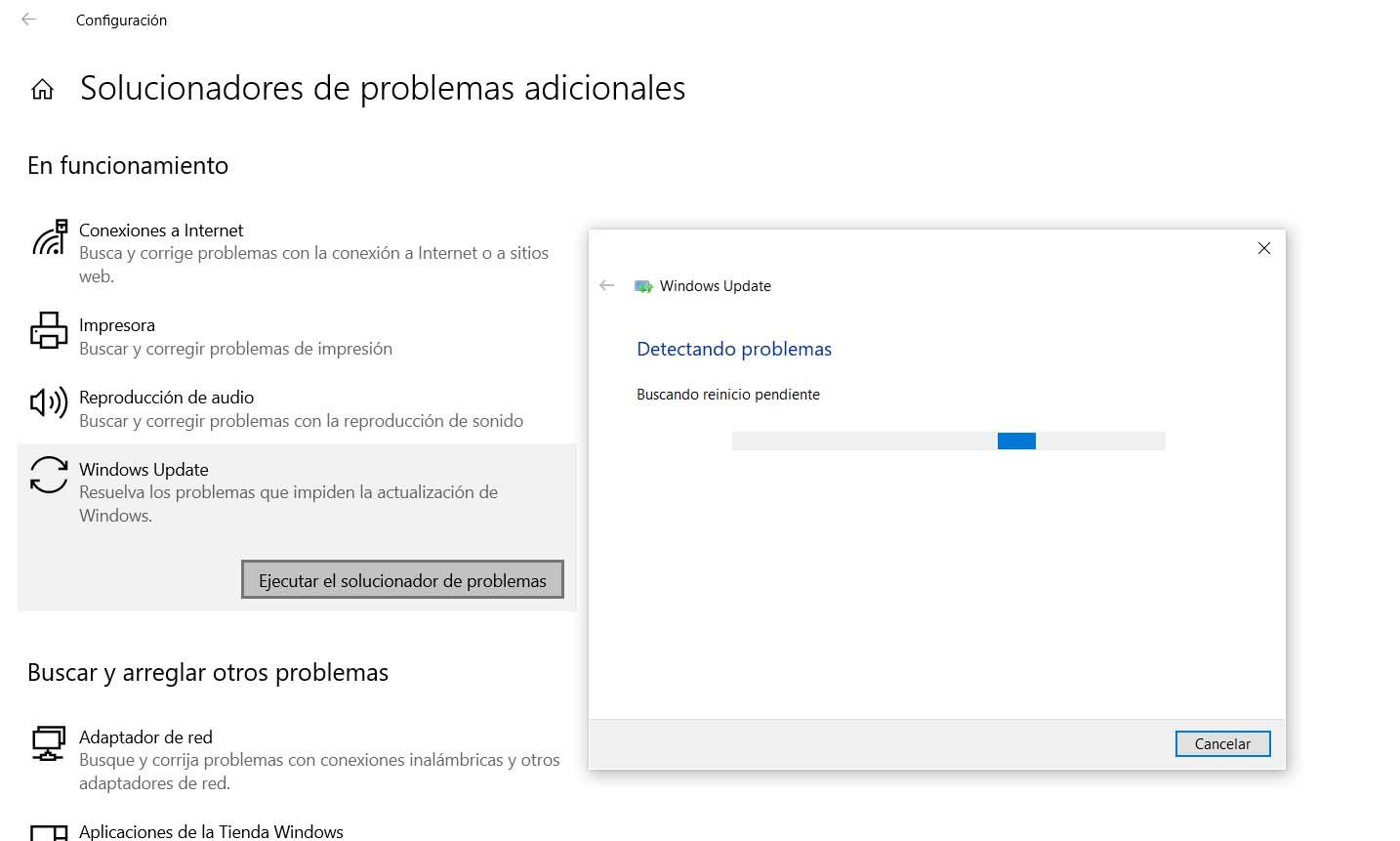 Fix bugs with Windows Update