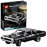 LEGO Technic Dom's Dodge Charger Fast & Furious, Iconic Race Car Model, Collectible Building Set, 42111