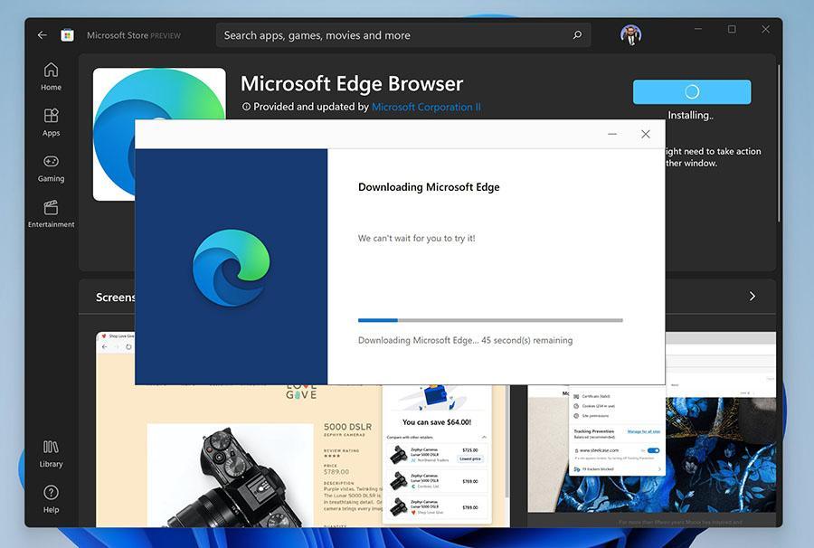 Download Microsoft Edge Browser