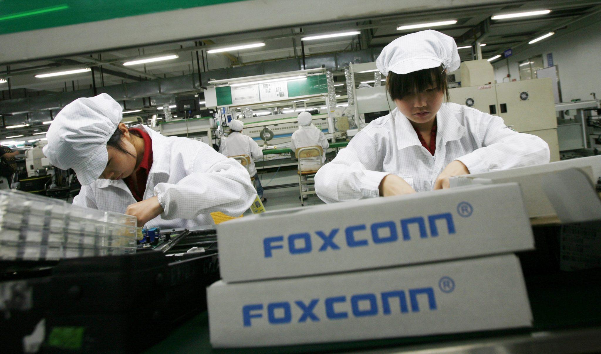 Provider Apple, Foxconn