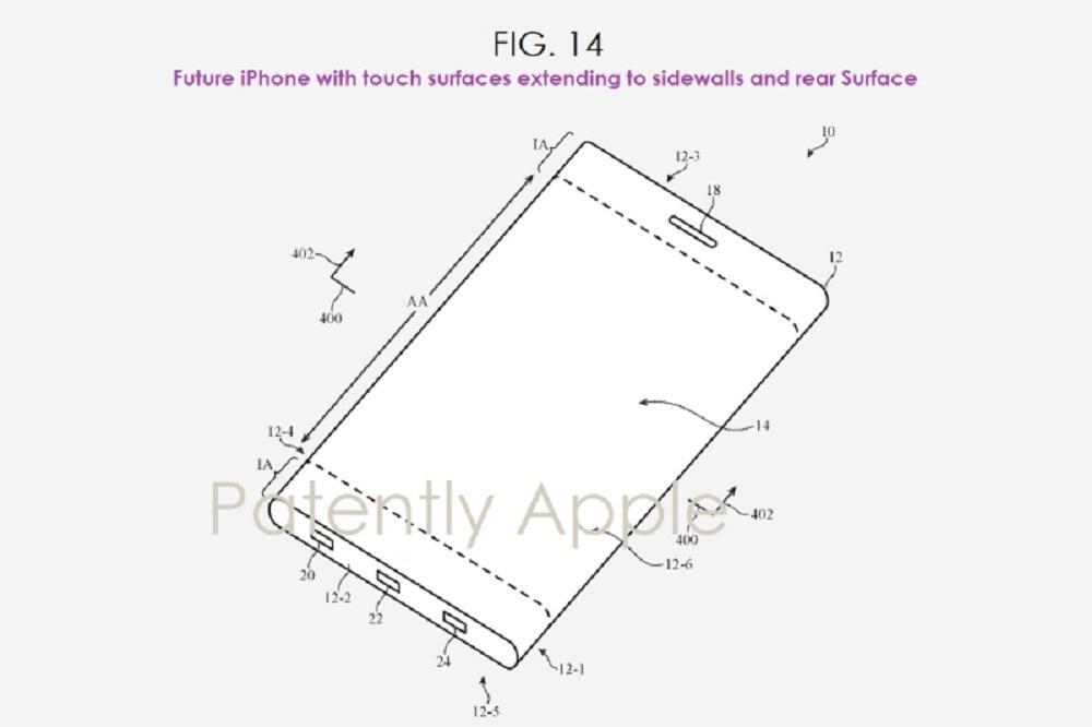 iphone folding patent