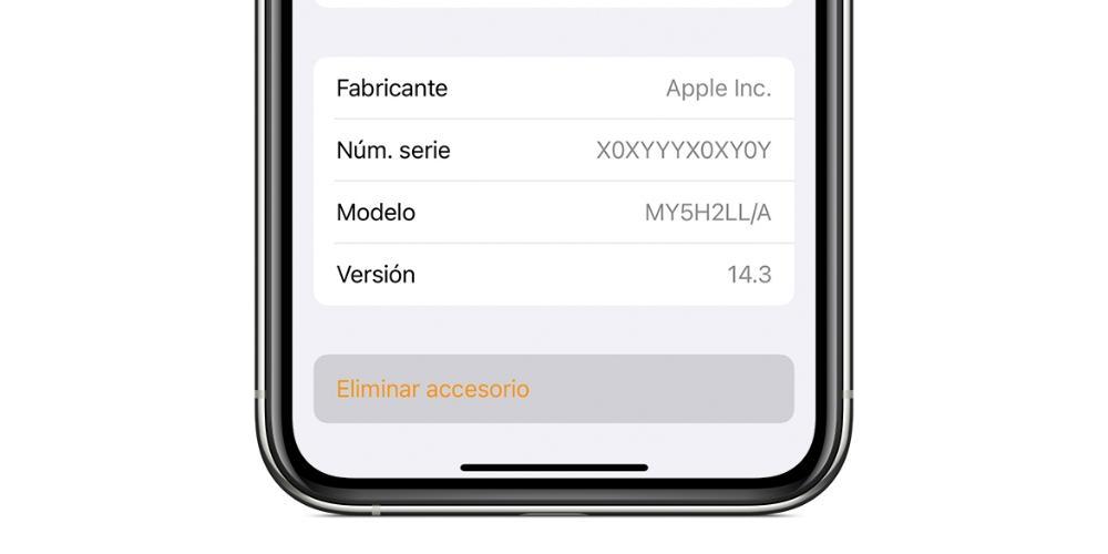 remove homepod app home accessory