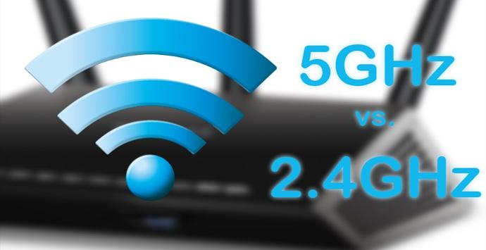 Differences between 2.4 and 5 GHz