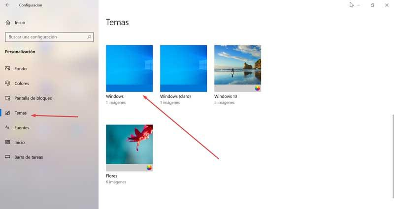 Themes and Windows