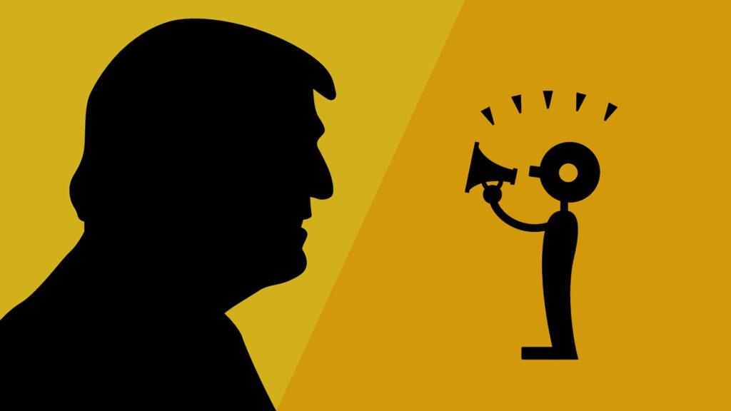 Donald Trump freedom of speech