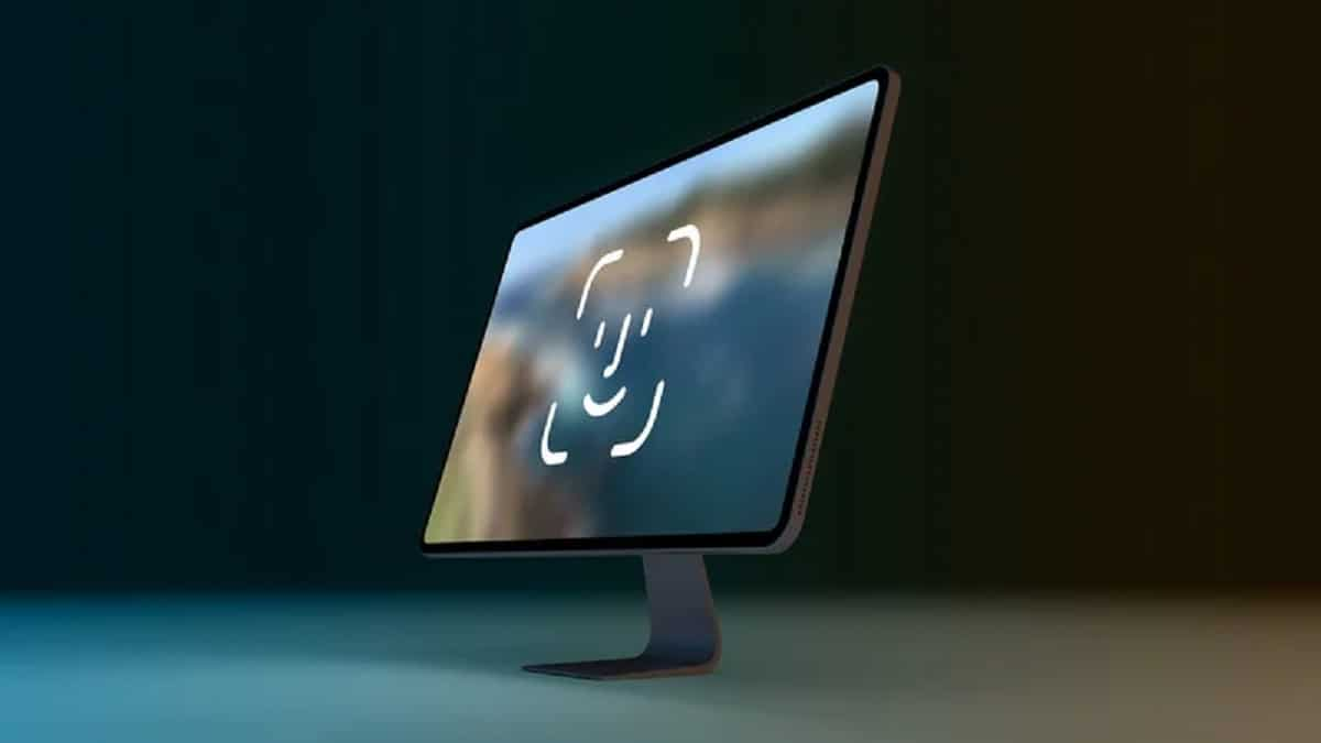 Face ID on the iMac