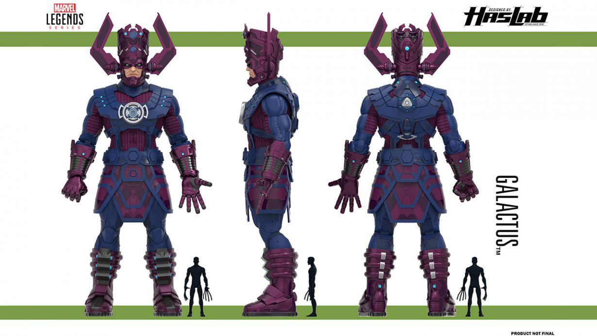 Hasbro Galactus measures