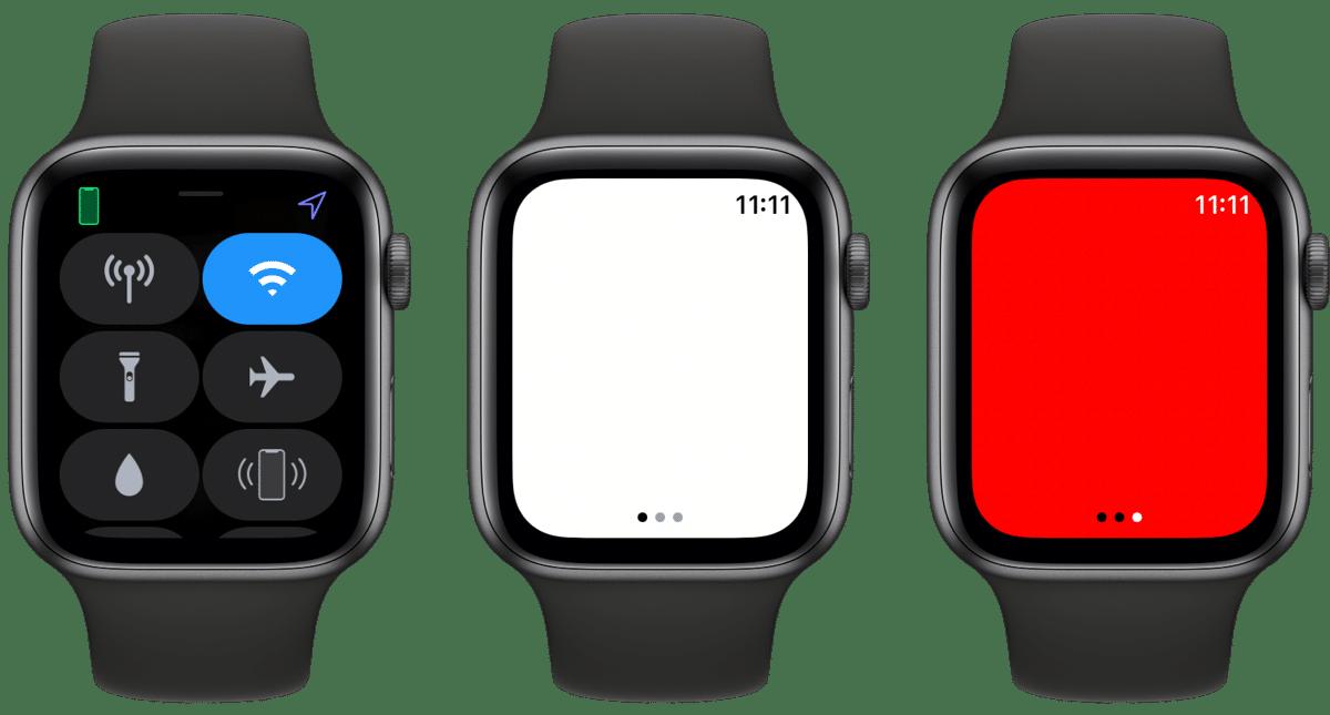 Flashlight Apple Watch