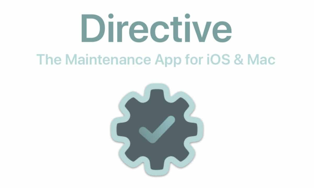 Directive for Mac