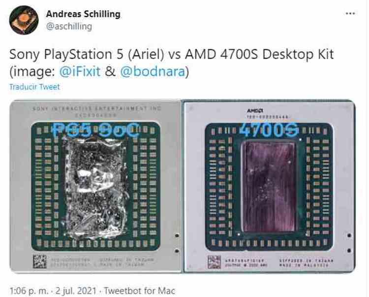 4700 SoC PS5