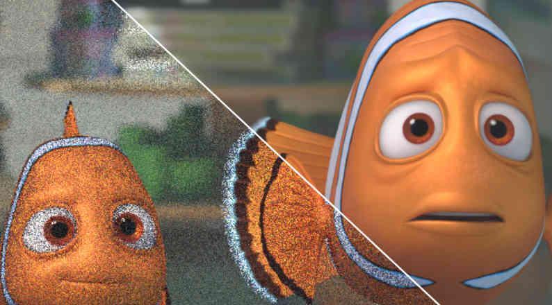 Pixar Denoiser