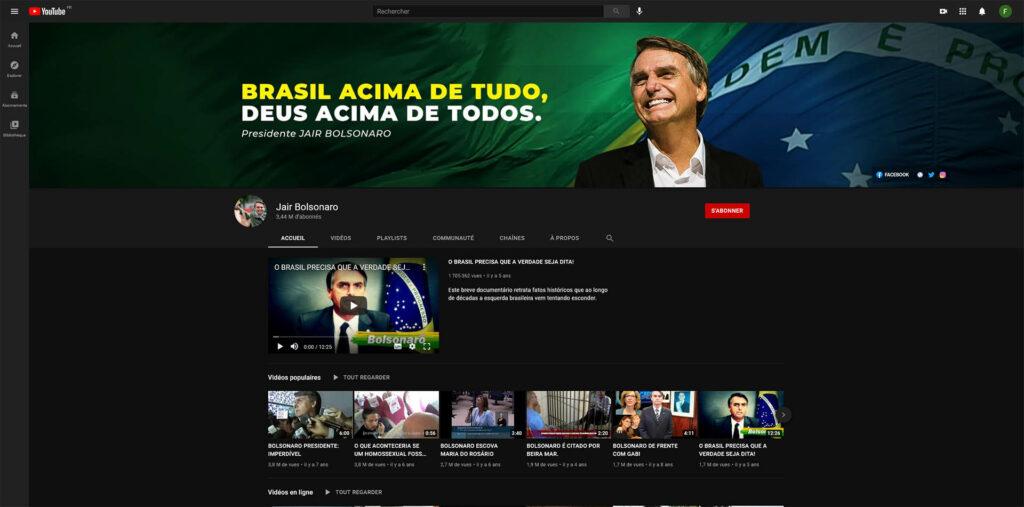 Jair Bolsonaro YT