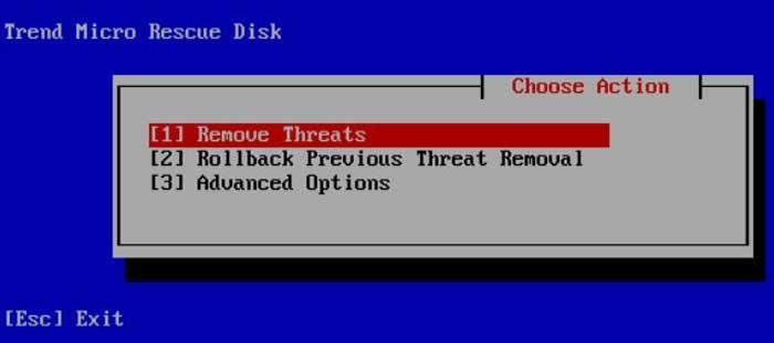 Trend Micro Rescue Disk Antivirus Live