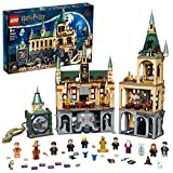 LEGO Harry Potter Hogwarts Chamber of Secrets 76389 Great Hall Castle Set with Gold 20th Anniversary Minifigure