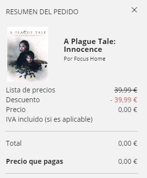 A Plague Tale free
