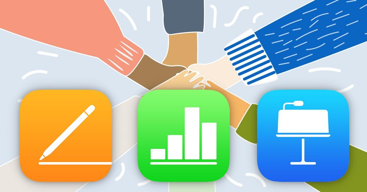 shared documents iwork pages numbers keynote