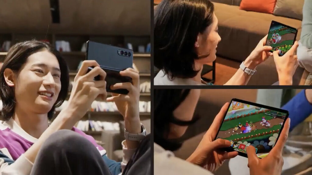The Galaxy Z Fold 3