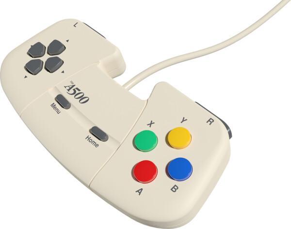 Amiga 500 Gamepad