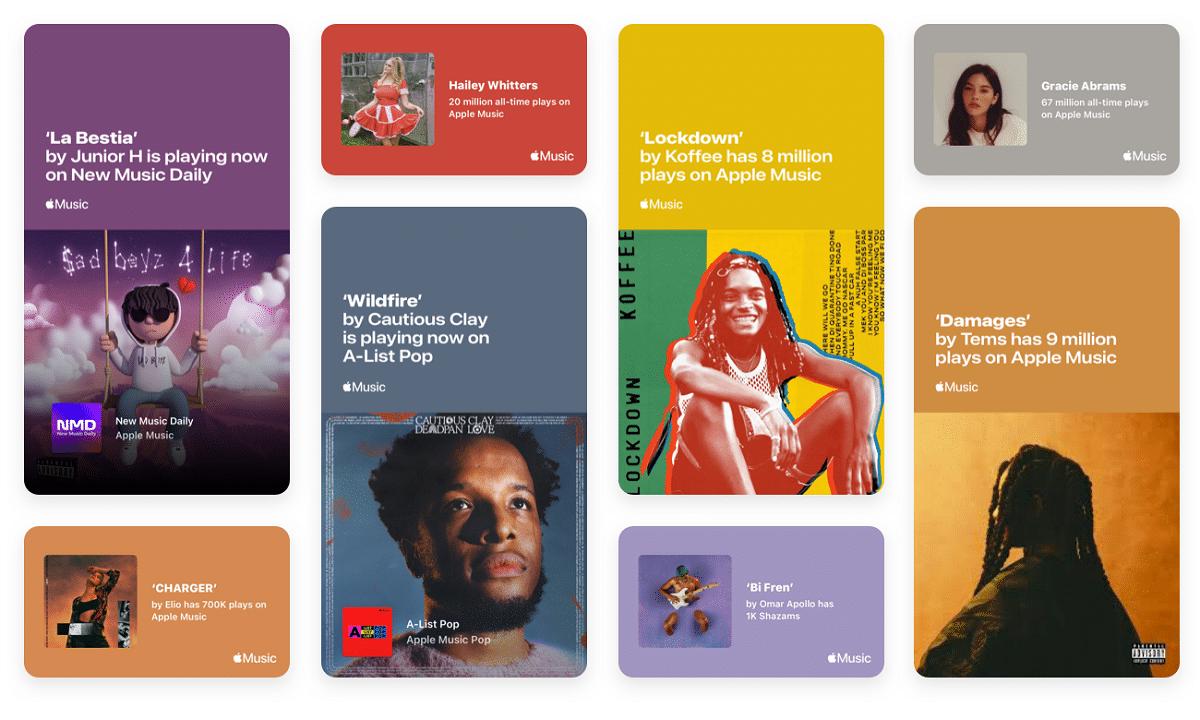 Milestones on Apple Music