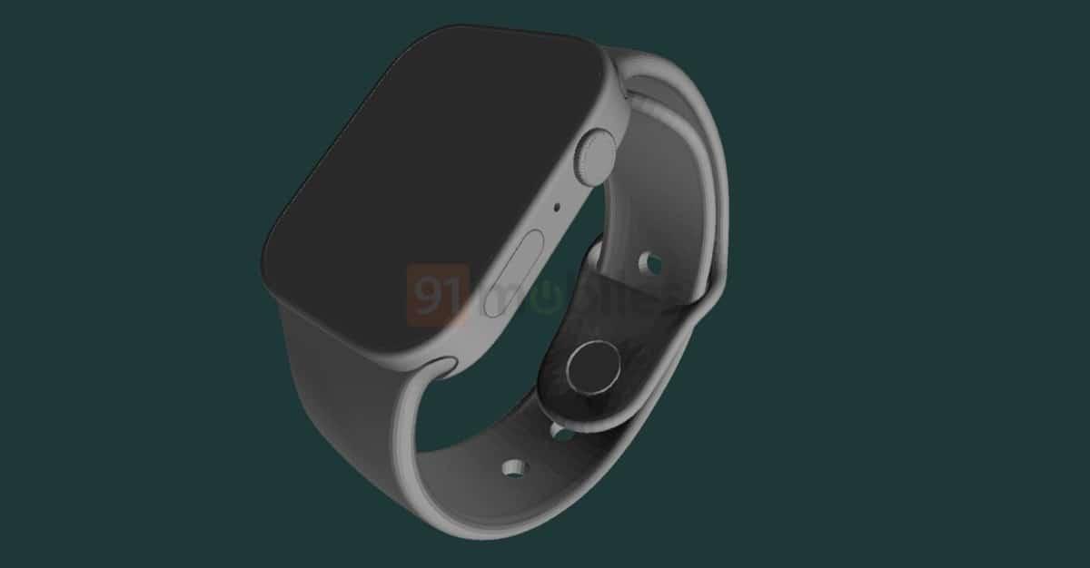 Apple Watch Series 7 render