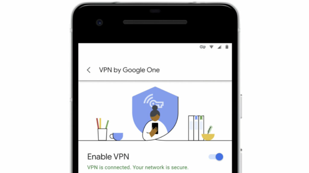 Android VPN app screenshot