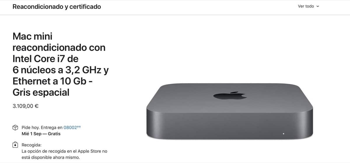 Mac Mini 10GB ethernet