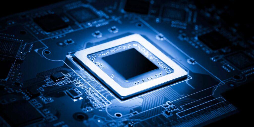 ARM processor chip