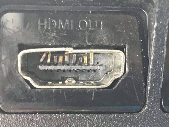 Broken HDMI port