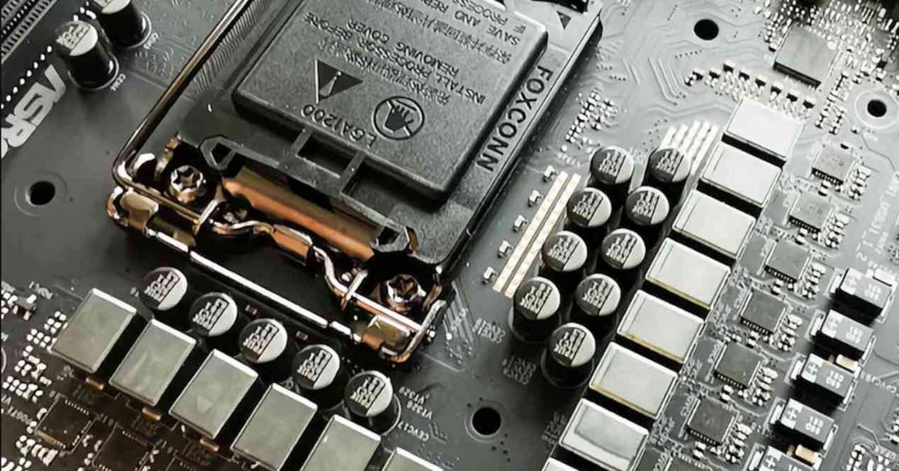 Chipset motherboard faces
