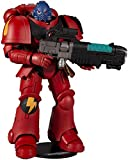 McFarlane- Warhammer 40000 7IN Figure WV2-ANGELS Blood HELLBLASTER, Color Red, One Size, 10916-0