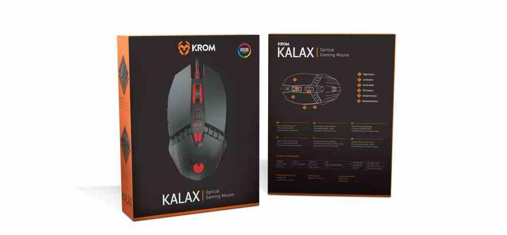 Krom Kalax Gaming Mouse