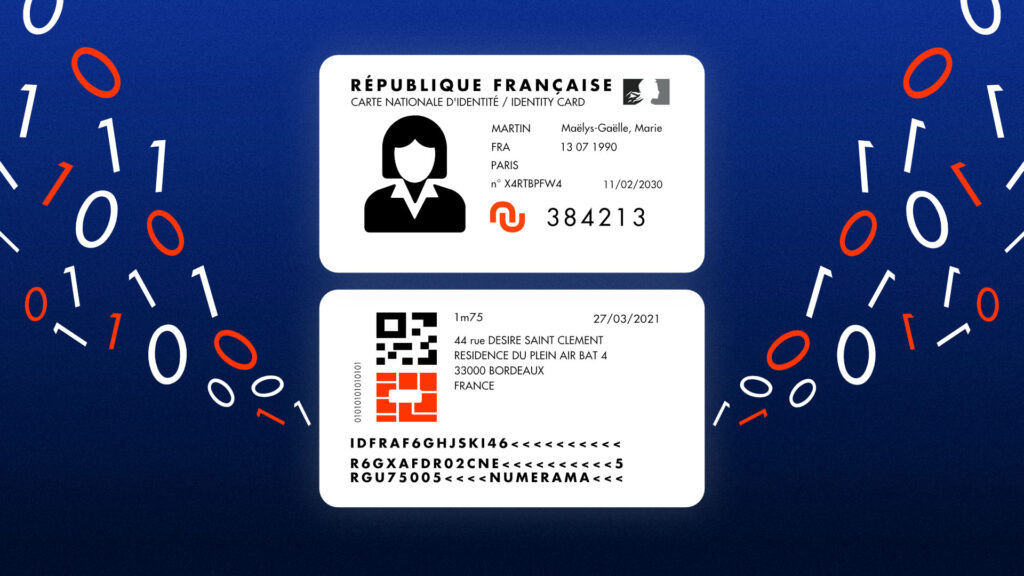 CNIe national electronic identity card
